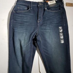 Mudd Women's Dark Blue High Rise Jean Leggings